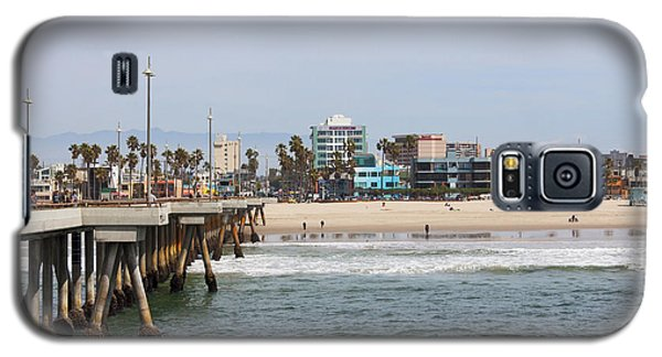 The South View Venice Beach Pier Galaxy S5 Case by Ana V Ramirez