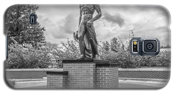 The Spartan Statue Black And White  Galaxy S5 Case