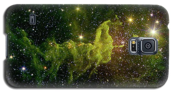 Galaxy S5 Case featuring the photograph The Spider And The Fly Nebula by NASA JPL - Caltech
