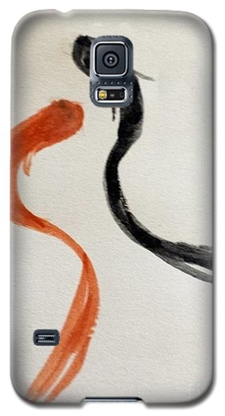 The Spirit Of Goldfish Galaxy S5 Case