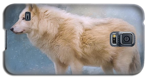 The Spirit Within - Arctic Wolf Art Galaxy S5 Case