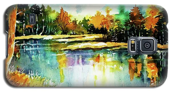 The Splendor And  Color Of Autumn Galaxy S5 Case