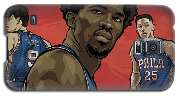 Sport Art Galaxy S5 Case - The Squad by Miggs The Artist