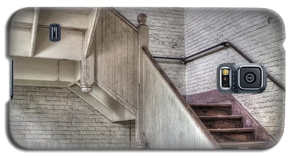 Galaxy S5 Case featuring the photograph The Stairs Horizontal by David Bishop