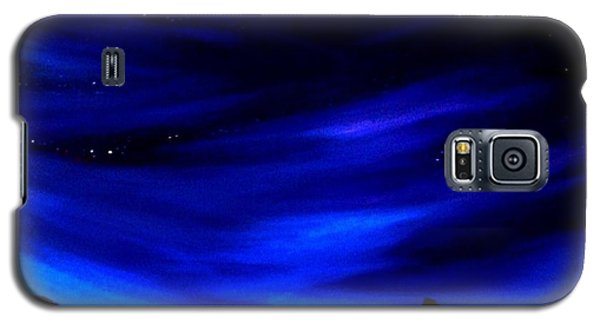 Galaxy S5 Case featuring the painting The Star Gazer by Scott Wilmot