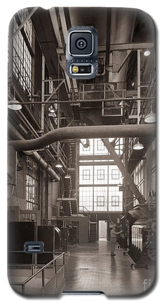 The Stegmaier Brewery Boiler Room Wilkes Barre Pennsylvania 1930's Galaxy S5 Case