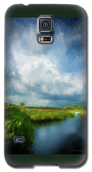 Alligator Galaxy S5 Case - The Storm by Marvin Spates