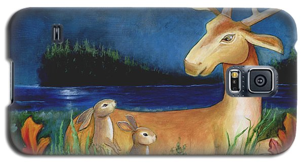 Galaxy S5 Case featuring the painting The Story Keeper by Terry Webb Harshman
