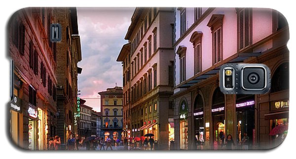 The Streets Of Florence Galaxy S5 Case