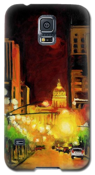 The Streets Run With Crimson And Gold Galaxy S5 Case