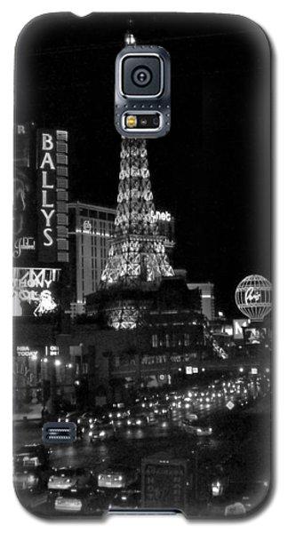 The Strip By Night B-w Galaxy S5 Case