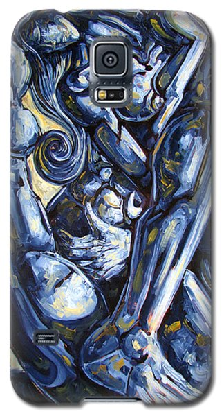 Nudes Galaxy S5 Case - The Struggle by Darwin Leon