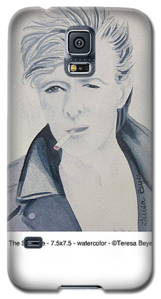 Galaxy S5 Case featuring the painting The Struggle by Teresa Beyer