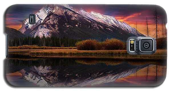 Galaxy S5 Case featuring the photograph The Sun Also Rises by John Poon