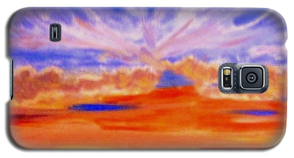 The Sun As A Falling Star Galaxy S5 Case