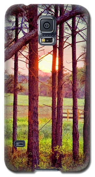 Galaxy S5 Case featuring the photograph The Sun Pines Away by Jan Amiss Photography