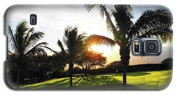 The Sun Rising Behind Haleakala Galaxy S5 Case