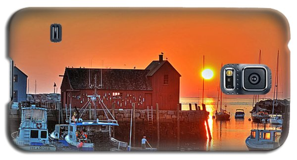The Sun Rising By Motif Number 1 In Rockport Ma Bearskin Neck Galaxy S5 Case