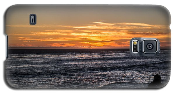 The Sun Says Goodbye Galaxy S5 Case