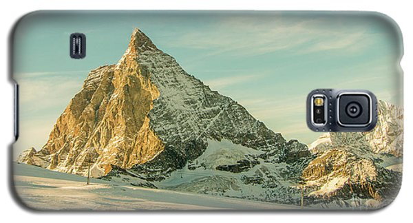 The Sun Sets Over The Matterhorn Galaxy S5 Case