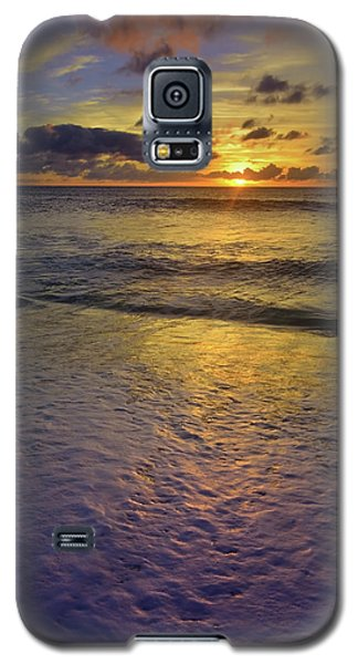 Galaxy S5 Case featuring the photograph The Sun Sets Softly In Molokai by Tara Turner