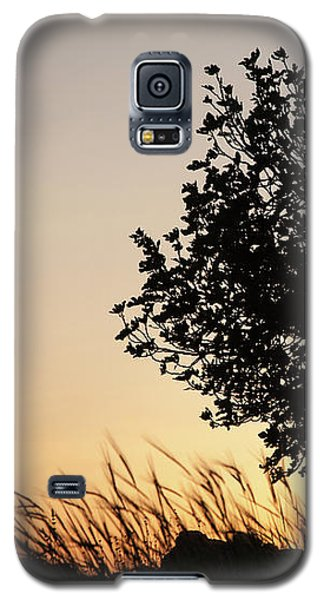 Galaxy S5 Case featuring the photograph Sunset On The Hill by Yoel Koskas