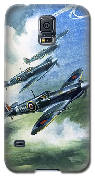 The Supermarine Spitfire Mark Ix Galaxy S5 Case by Wilfred Hardy