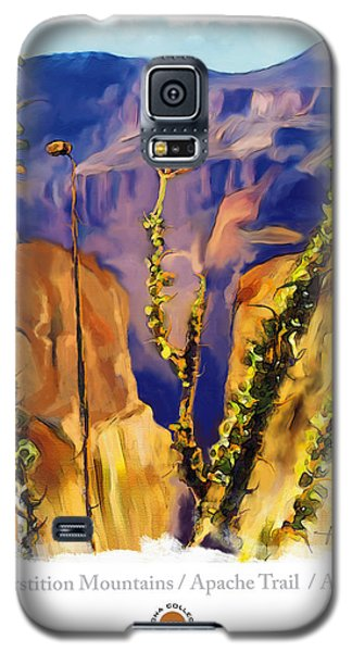The Superstition Mtns. Az Galaxy S5 Case by Bob Salo