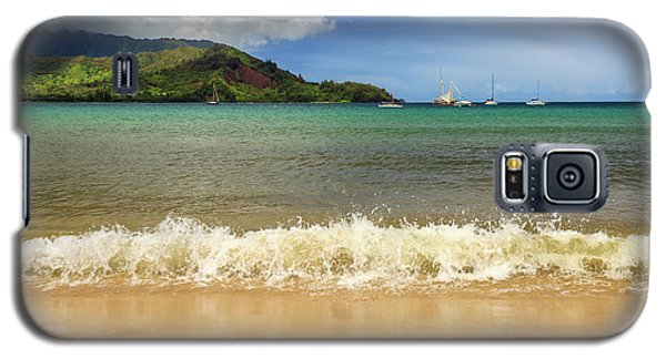 The Surf At Hanalei Bay Galaxy S5 Case