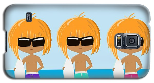 The Surfing Triplets Galaxy S5 Case