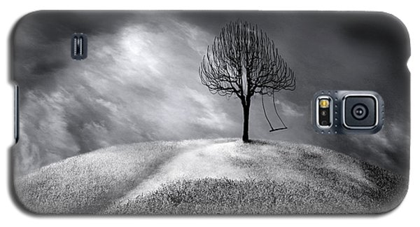 The Swing That Swings Alone Galaxy S5 Case by Gray  Artus