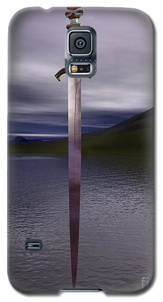 The Sword Excalibur On The Lake Galaxy S5 Case
