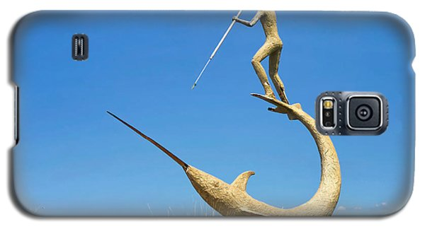Galaxy S5 Case featuring the photograph The Swordfish Harpooner by Mark Miller