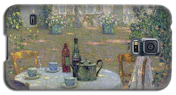 Snake Galaxy S5 Case - The Table In The Sun In The Garden by Henri Le Sidaner