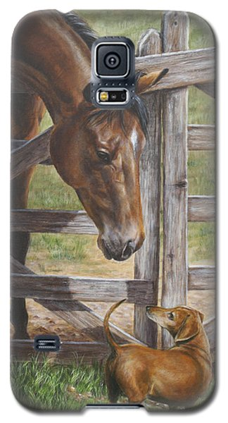 The Tall And Short Of It Galaxy S5 Case by Kim Lockman