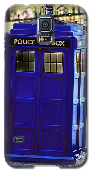 The Tardis Galaxy S5 Case