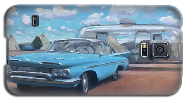 The Teepee Motel, Route 66 Galaxy S5 Case