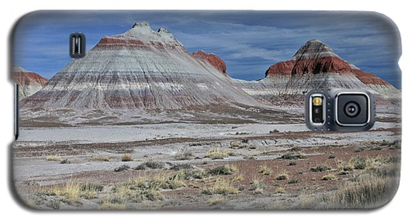 Galaxy S5 Case featuring the photograph the TeePees by Gary Kaylor