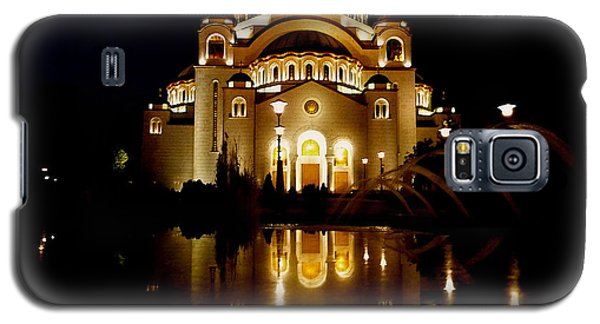 Galaxy S5 Case featuring the photograph The Temple Of Saint Sava In Belgrade  by Danica Radman