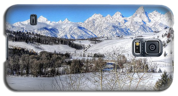 The Tetons From Gros Ventre Valley Galaxy S5 Case