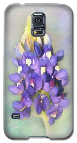 Galaxy S5 Case featuring the photograph The Texas State Flower The Bluebonnet by David and Carol Kelly