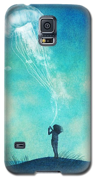 The Thing About Jellyfish Galaxy S5 Case by Eric Fan