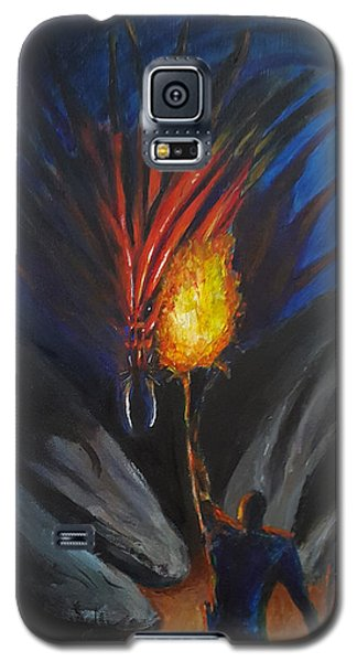 The Thing In The Cave Galaxy S5 Case