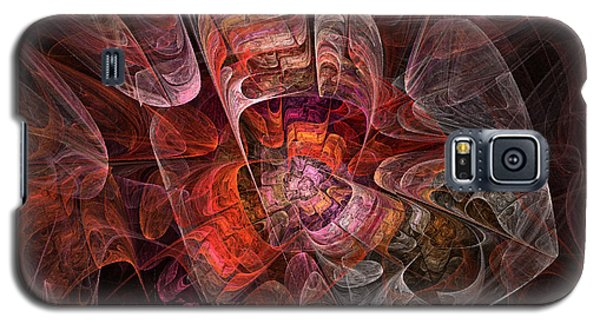 Galaxy S5 Case featuring the digital art The Third Voice - Fractal Art by NirvanaBlues