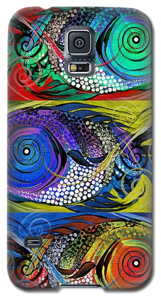 The Three Fishes Galaxy S5 Case