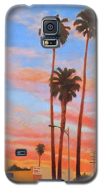 The Three Palms Galaxy S5 Case by Andrew Danielsen