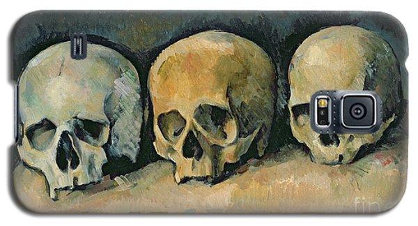 Still Life Galaxy S5 Case - The Three Skulls by Paul Cezanne