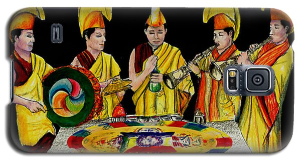 The Tibetan Monks At Lilydale Assembly Galaxy S5 Case by Albert Puskaric