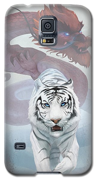 The Tiger And The Dragon Galaxy S5 Case