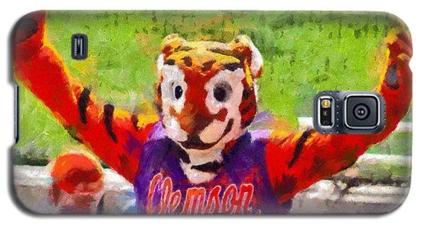 The Tiger Galaxy S5 Case by Lynne Jenkins